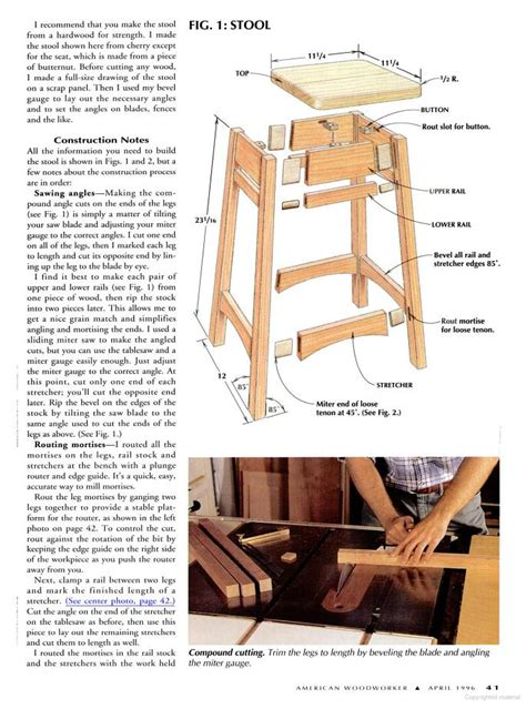 bar stool woodworking plans free bar stool plans woodwork city free woodworking plans