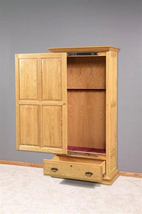 door gun cabinet amish made gun cabinet sliding door cabinet doors