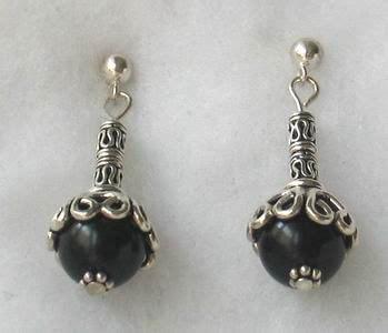 black bead earrings best black bead earrings photos 2017 blue maize