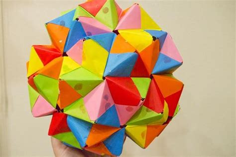 modular origami dodecahedron modular origami how to make a truncated icosahedron