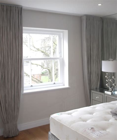 ceiling to floor drapes ceiling to floor wall to wall curtains guest bedroom
