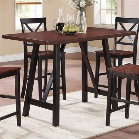 contemporary counter height dining table makelim counter height table black walnut contemporary