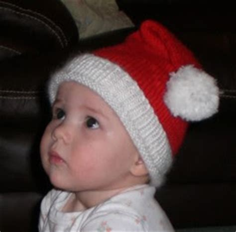 knitted santa hat for baby knitting with monkey baby santa hat pattern