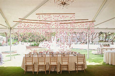 origami crane wedding decoration a handmade vintage pink wedding grace