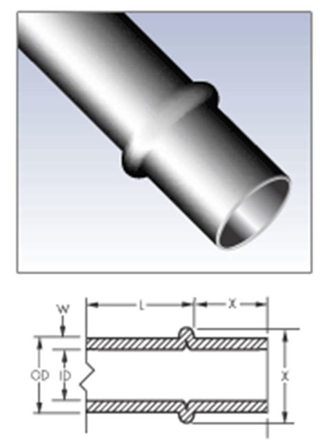 stop end bead hydraulic steel lines with flare fittings braze on or