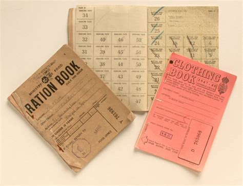 pictures of ration books ration books world war ii original object lessons