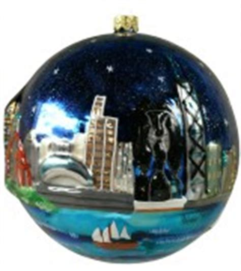 chicago bean ornament chicago themed ornaments of chicago landmarks