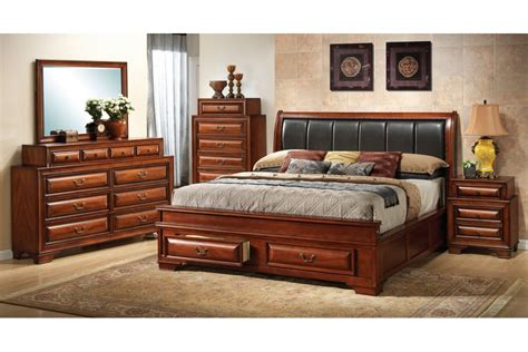 bedroom set with storage king storage bedroom sets home furniture design