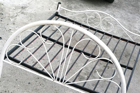 spray painting metal bed frame how to paint a metal bed frame with pictures wikihow