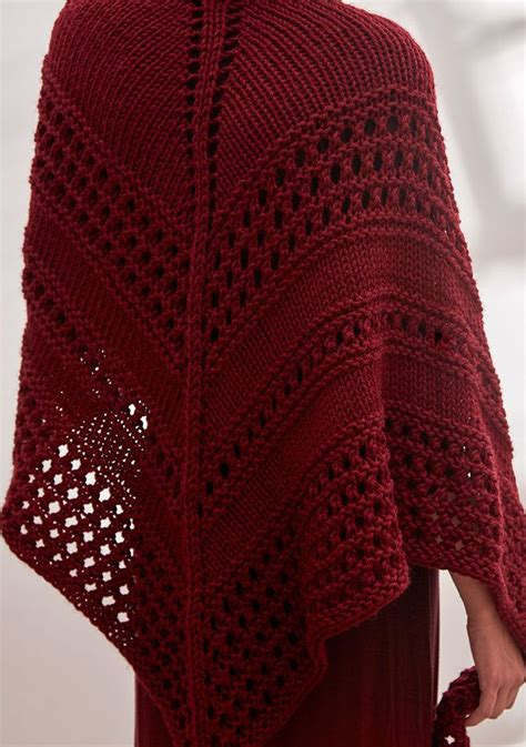 free triangle scarf knitting pattern 25 best ideas about knit shawl patterns on