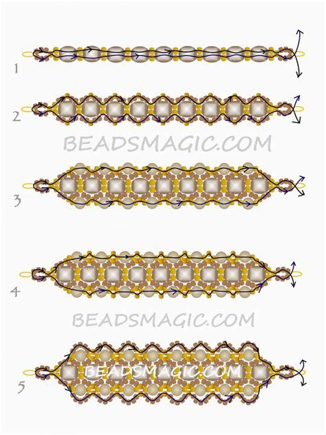 seed bead bracelet patterns and free beaded pattern for bracelet honey magic