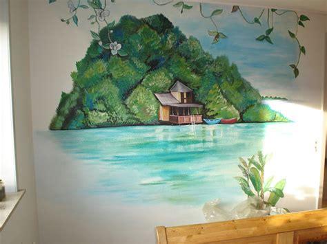 relaxing wall murals maggie murals tropical shore wall mural