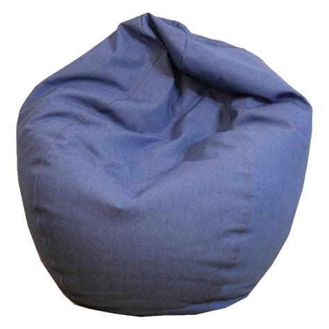 bean bag chair durable denim bean bag chairs thebeanbagchairoutlet