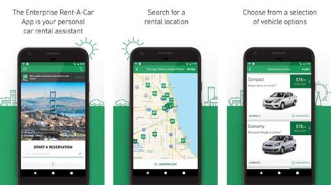 Best Car Apps For Android by 10 Best Car Rental Apps For Android Android Authority