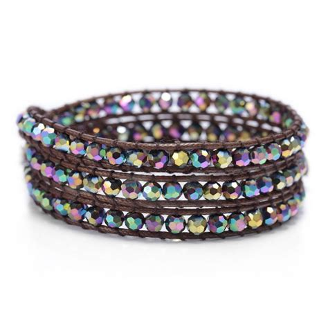beaded wrap multi wrap bracelet handmade beaded wrap bracelets