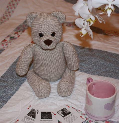 free patterns for knitted teddy bears knit teddy knit crochet