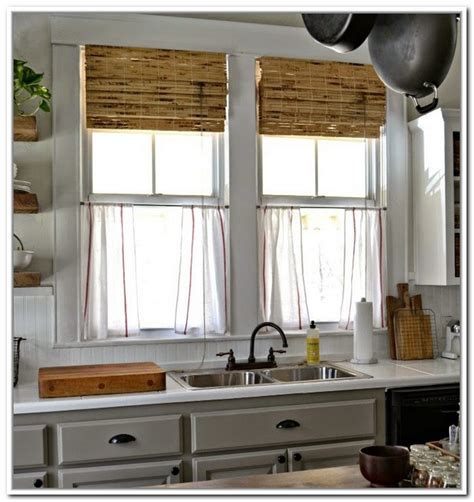 curtains for the kitchen beautiful linen caf 233 curtains for windows homesfeed