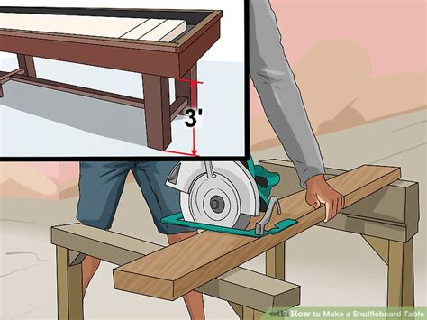 how to make a shuffleboard table build a shuffleboard table table designs
