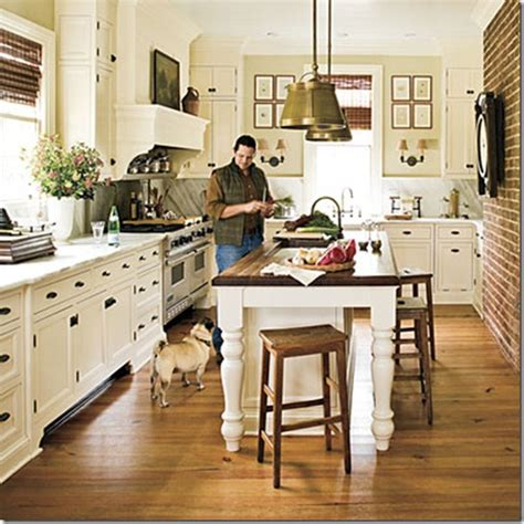 southern living kitchens ideas mixing metals in home decor