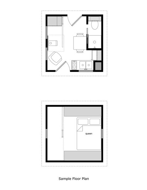 tiny house floor plans 10x12 updated prospector s cabin plans