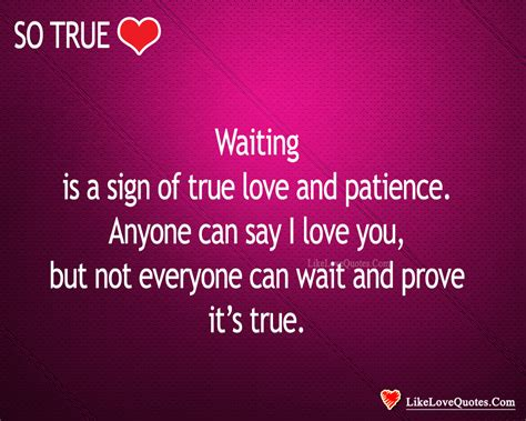 signs of true waiting is a sign of true patience