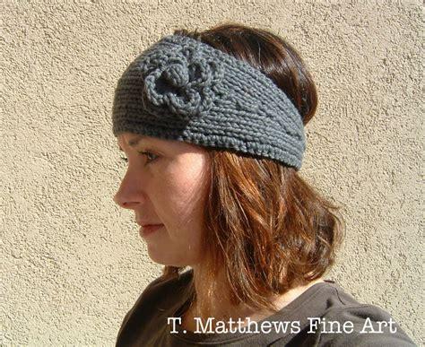 knitted ear warmer pattern t matthews free knitting pattern headband ear