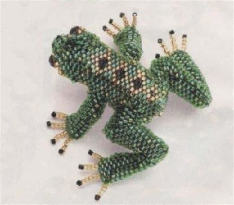 beaded frog beaded frog tutorial pdf my of frogs