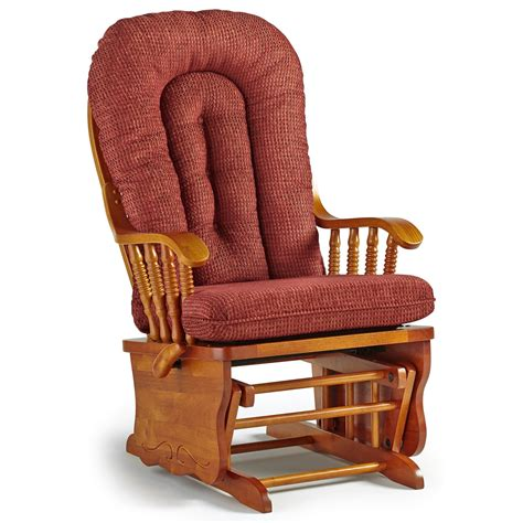 Chair Rocker by Best Home Furnishings Glider Rockers Sunday Glide Locking