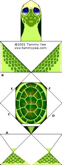 tammy yee origami baby honu green sea turtle origami