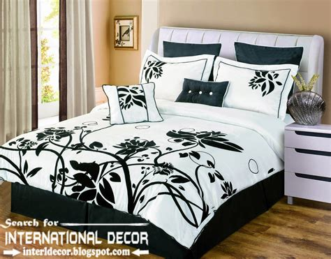 bedding black and white italian bedspreads and bedding sets for luxury bedroom