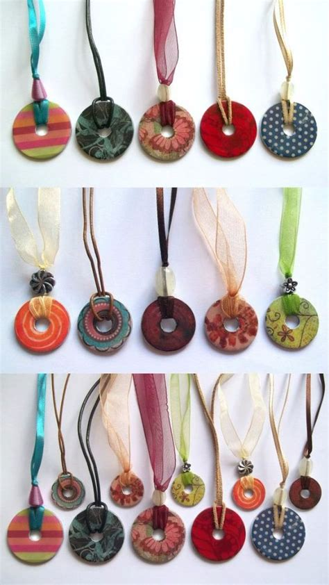cool jewelry to make make and sell washer necklace and crafts to make on