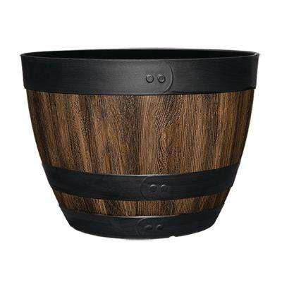 wine barrel planters home depot barrels pots planters the home depot