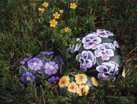 painting rocks for garden rock paintings wismer decorockart decorative painting