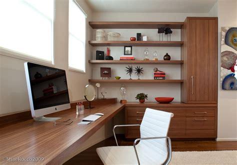 modern built in desk modern home office with built in desk storage modern