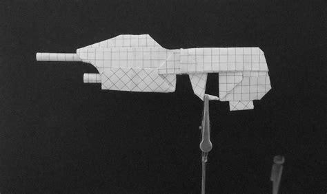 how to make a origami gun origami guns assault rifle by solidmark on deviantart