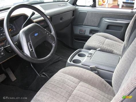 1990 ford bronco interior parts gray interior 1990 ford bronco custom 4x4 photo 56232841 gtcarlot com