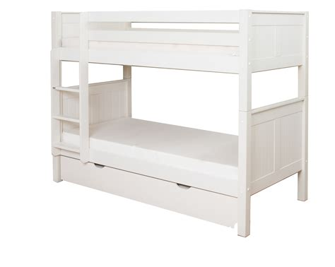 stompa bunk beds classic bunk bed with trundle bed by stompa