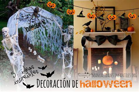 decoracion de hallowen decoracion halloween actividades para ni 241 os
