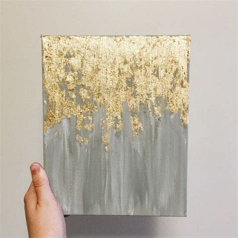 acrylic painting gold 25 best ideas about gold wall on big