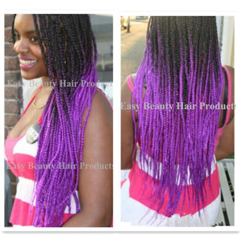 micro braids ombre hair burgundy hair color in the box long hairstyles