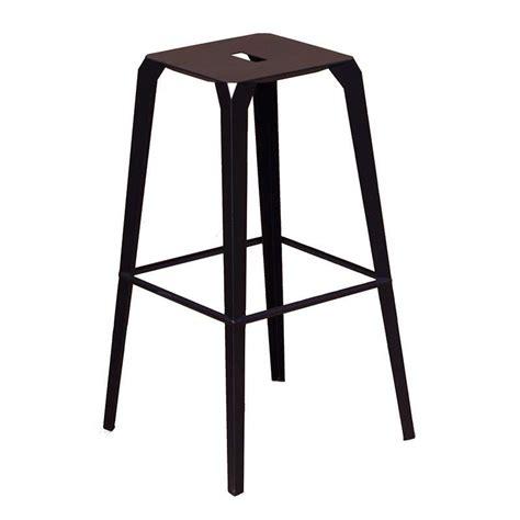 tabouret industriel en m 233 tal hauteur bas snack ou bar valence 4 pieds tables chaises
