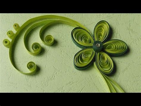 paper craft works paper quilling greeting cards flower works