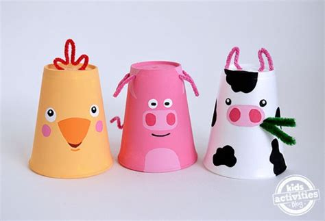 farm craft for cardboard farm animals the up crafts by amanda