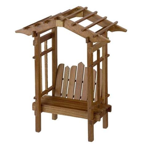 trellis garden bench