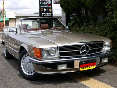 1986 mercedes benz 500sl 107046 500sl for sale japanese