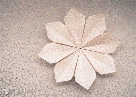 2d origami flower origami flowers and plants gallery go origami