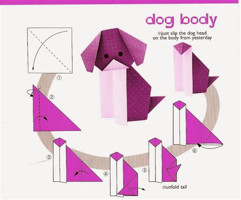 origami dogs origami and comot