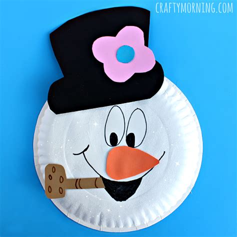 snowman paper crafts template snowman paper plate search results calendar 2015