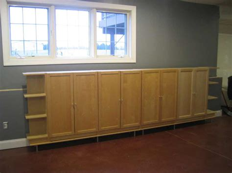 basement storage cabinets for well organized basement