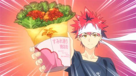 food wars review food wars anime arcade